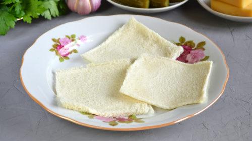 хлеб для канапе