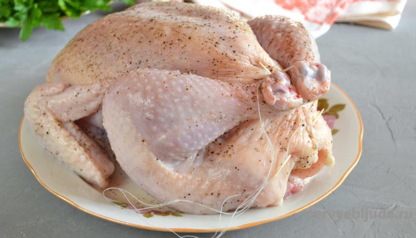 готовим курицу для запекания