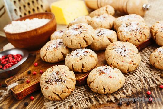 печенье из творога с овсянкой