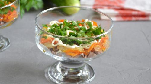 украшаем праздничный салат