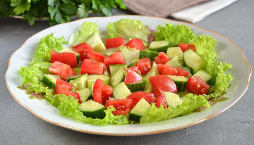 собираем овощной салат с картофелем соломкой