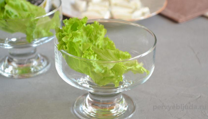 собираем салат греческий