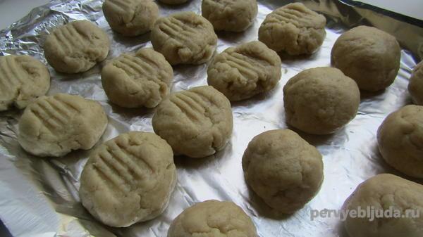 турецкое печенье курабье чатлак