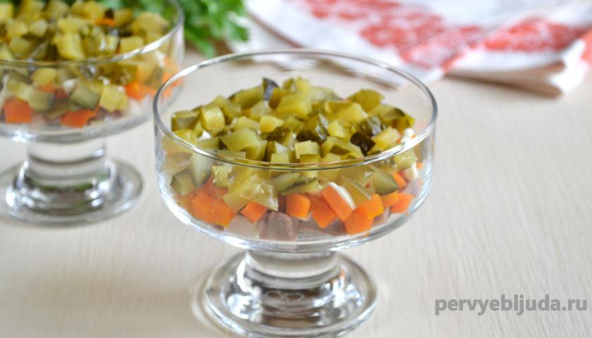 готовим салат из языка