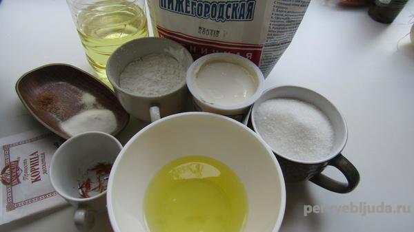 ингредиенты для приготовления курабье