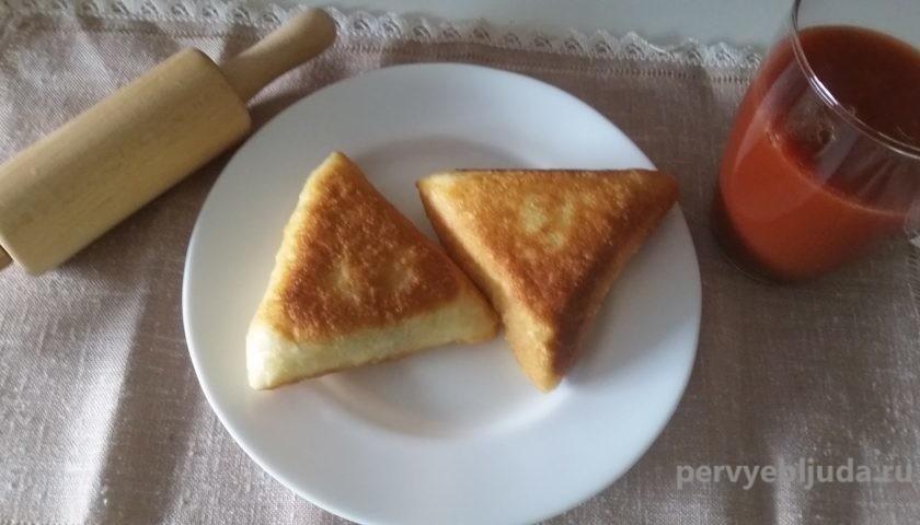 треугольные беляши