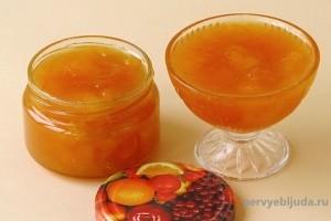 яблочно апельсиновый джем