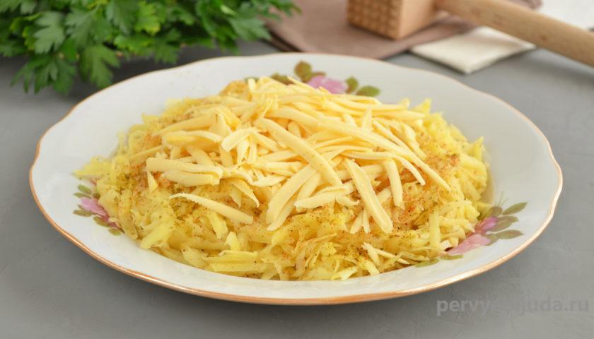 картофельная шуба