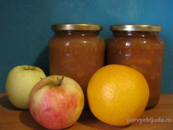 джем из яблок и апельсина