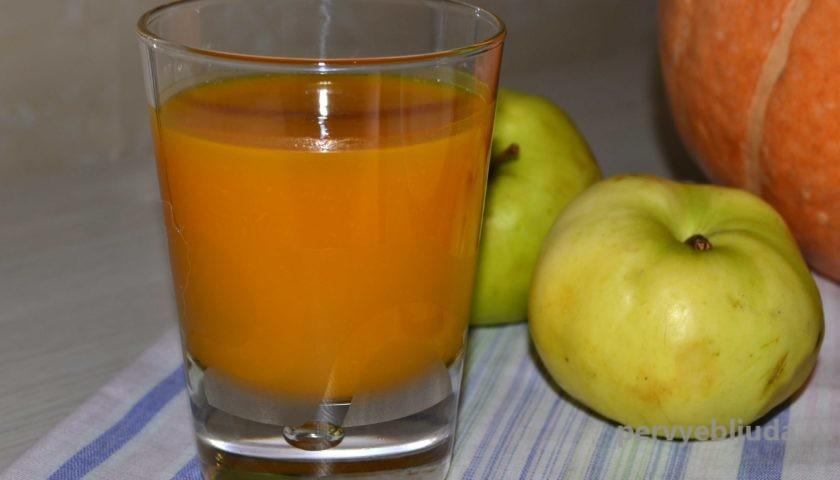 тыквенно-яблочный сок