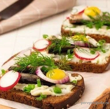 норвежский бутерброд