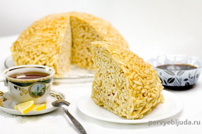 Восточные сладости— рецепт «Чак-чака»