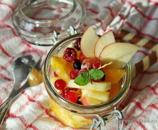 фруктово-ягодные десерты для детей