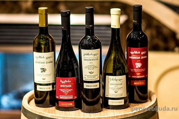 Большая популярность грузинских вин