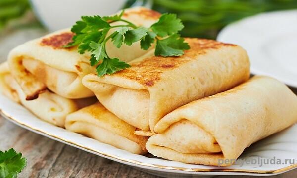 Блинчики с мясом: калорийность, классические рецепты и советы, как снизить количество колорий