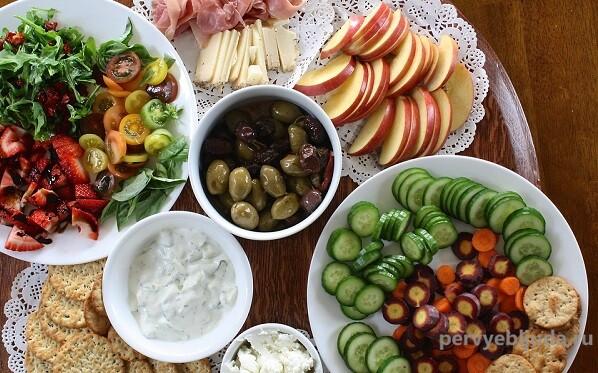 Простые и быстрые рецепты закусок и салатов для тех, кто правильно питается