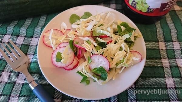 Салат со шпинатом: вкусно, быстро, полезно