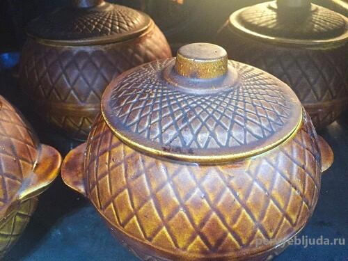 глиняные горшочки в духовке