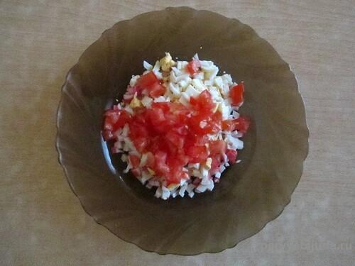 готовим порционный салат