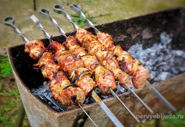 маринад для шашлыков из свинины