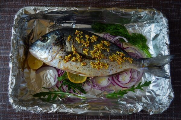 готовим рыбу к запеканию