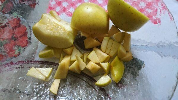 готовим начинку из яблок