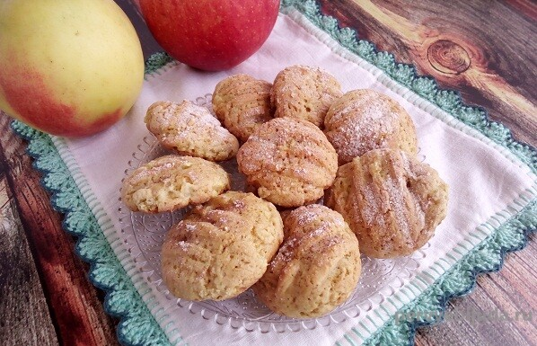 пряники с яблоками