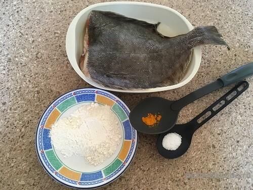 жарим рыбу камбалу