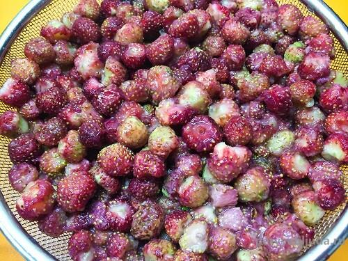 ягоды лесной клубники