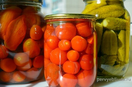 помидоры консервация