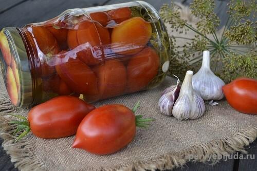 помидоры маринованные на зиму очень вкусные и сладкие