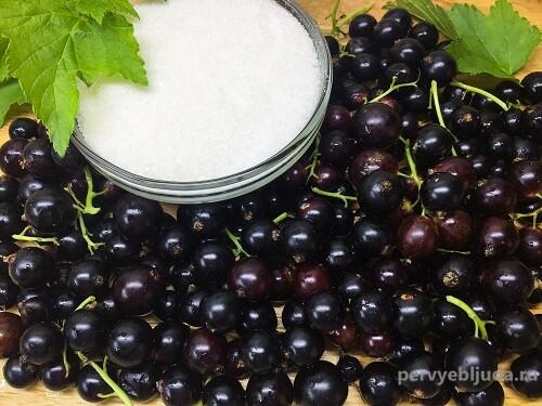 ингредиенты для варенья из черной смородины