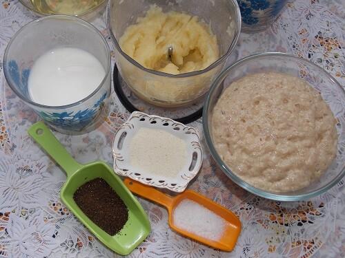 добавляем в тесто чеснок