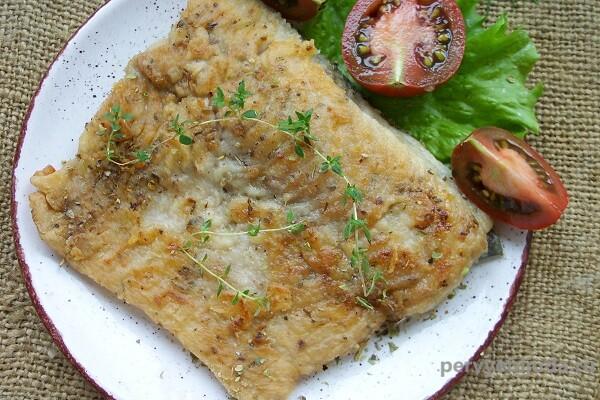 Филе карпа на сковороде— быстро и очень вкусно!