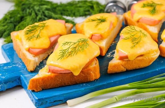горячий бутерброд с сыром