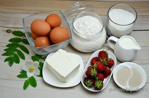 ингредиенты для приготовления кулича