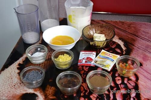 ингредиенты для самого вкусного кулича