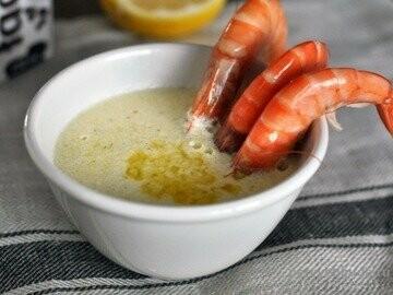 сливочный соус с чесноком