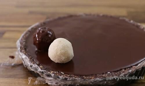 украшаем тарт