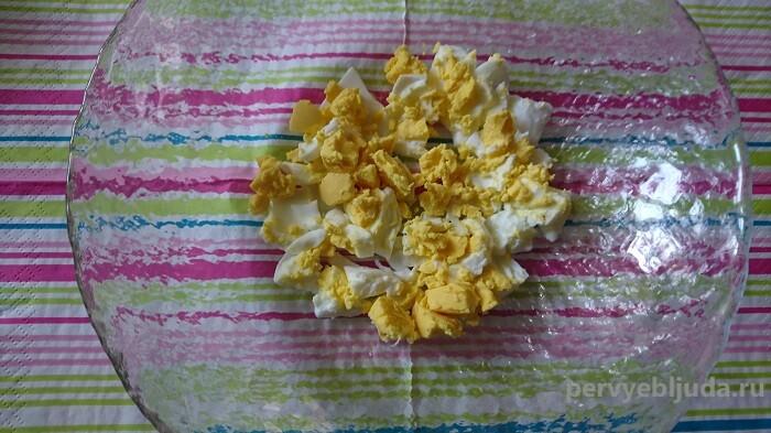 вареные яйца для салата