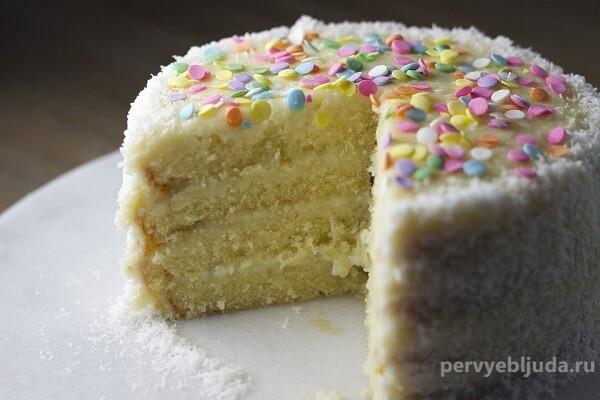 Пеките вкусные и красивые торты