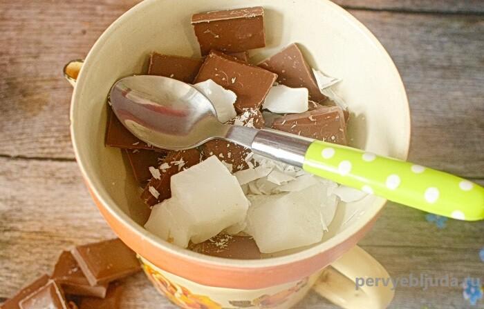 шоколад на паровой бане