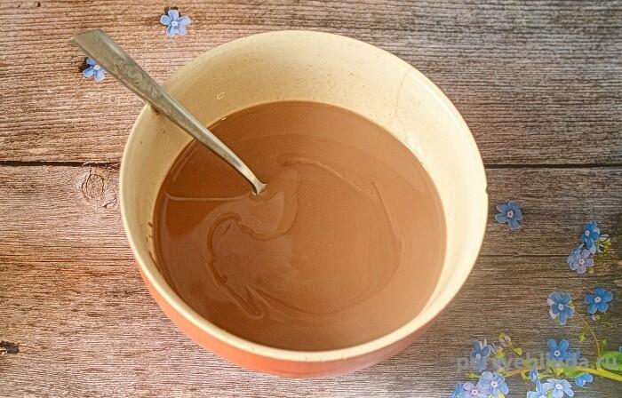 шоколадная масса