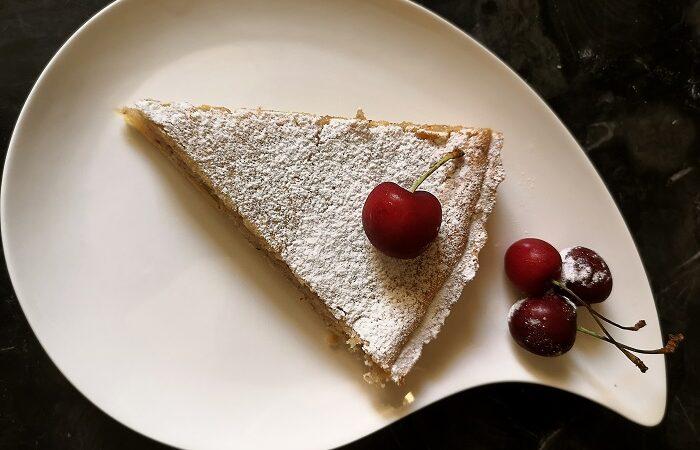 тарт с миндальным франжипаном