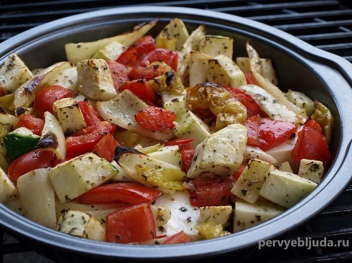 Лучший гарнир к мясу— овощи гриль!