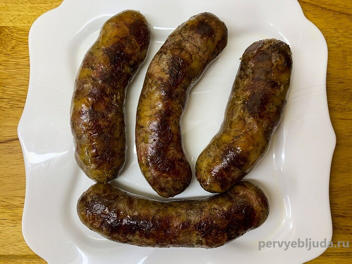колбаса из мяса косули