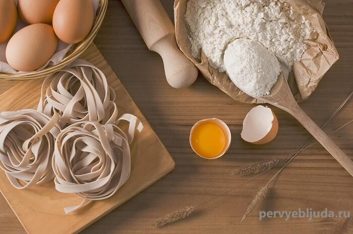 Рецепт вкусного теста для домашней лапши