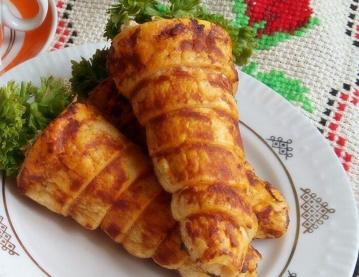 Новогодняя мясная закуска— «Морковка»
