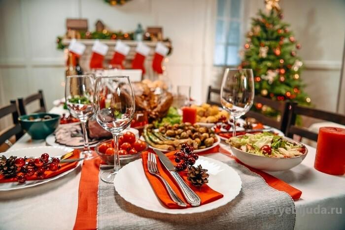 Как накрыть новогодний стол в 2021 году: идеи и рецепты!