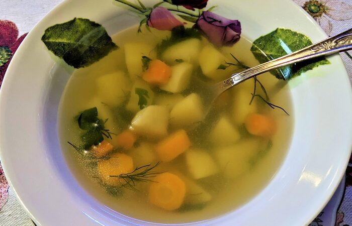 рыбный суп из свежей рыбы